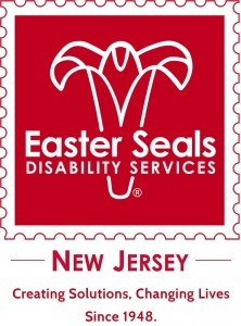 "Easter Seal's old logo brand and tag, ""Creating Solutions, Changing Lives Since 1948"""