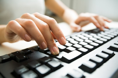 Fingers Typing