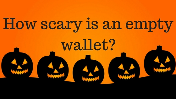 Halloween Scary Wallet