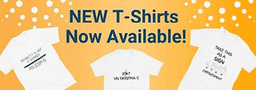 New T-Shirts Now Available